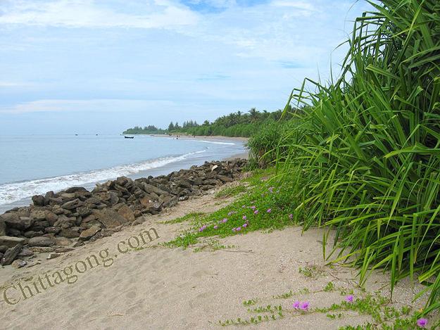 Saint Martin's Island's Beach